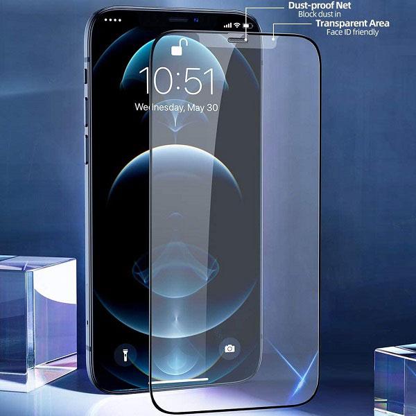 خرید گلس فیلتردار گوشی آیفون iPhone 12 mini برند Lanbi
