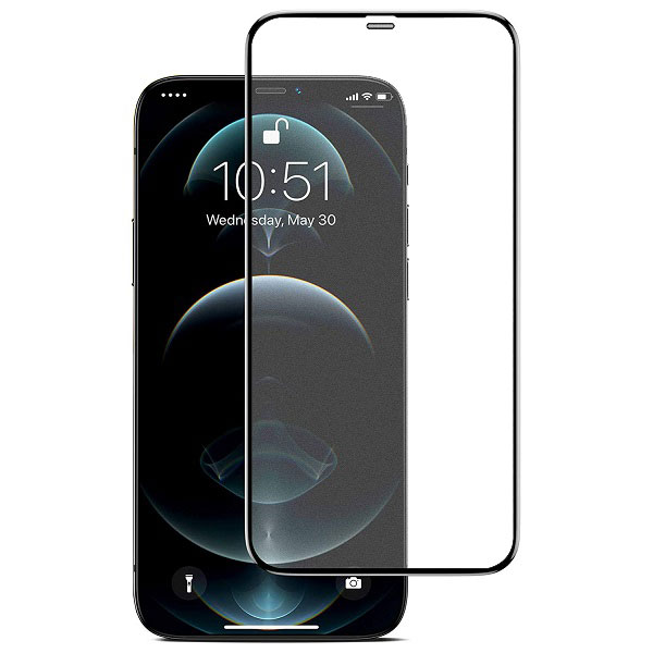 خرید گلس فیلتردار گوشی آیفون iPhone 12 Pro Max مدل تمام صفحه