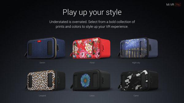 طرح های هدست واقعیت مجازی شیائومی Mi VR