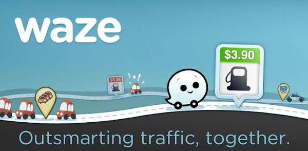 معرفی نرم افزار Waze GPS Introducing