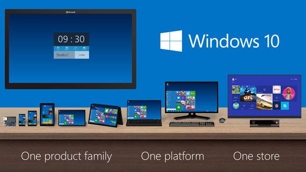 ویندوز 10 سیستم عاملی برای تمامی پلتفرمها