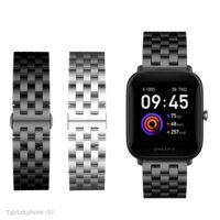 بند ساعت هوشمند شیائومی Amazfit Bip U استیل Solid