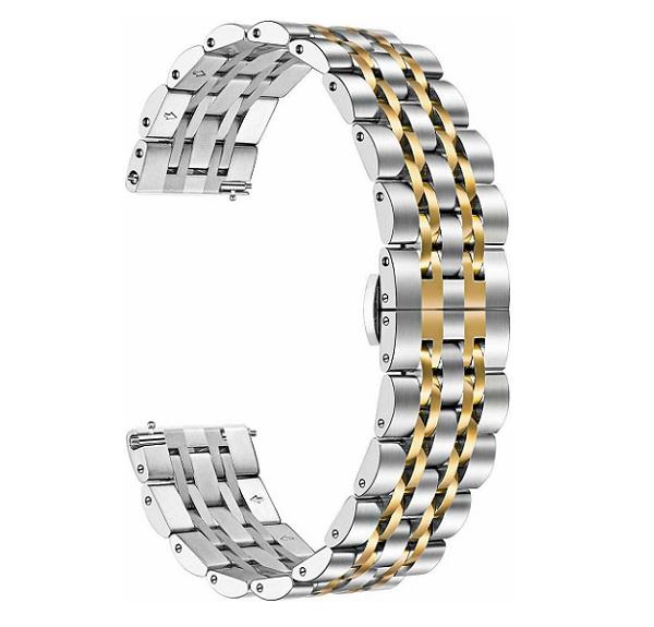 خرید بند فلزی طرح رولکس ساعت هوشمند شیائومی Amazfit GTR 47mm
