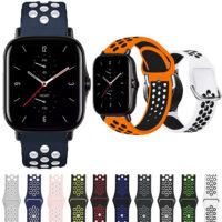 خرید بند طرح نایکی ساعت هوشمند شیائومی امیزفیت GTS 2