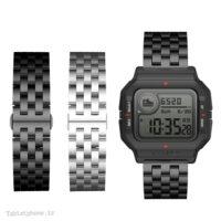 بند ساعت هوشمند شیائومی Xiaomi Amazfit Neo استیل Solid