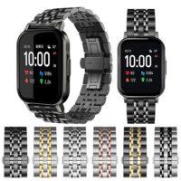 خرید بند فلزی طرح رولکس ساعت هوشمند شیائومی هایلو LS02