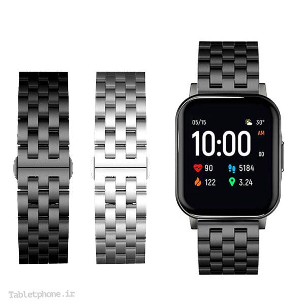 بند ساعت شیائومی Xiaomi Haylou LS02 استیل Solid