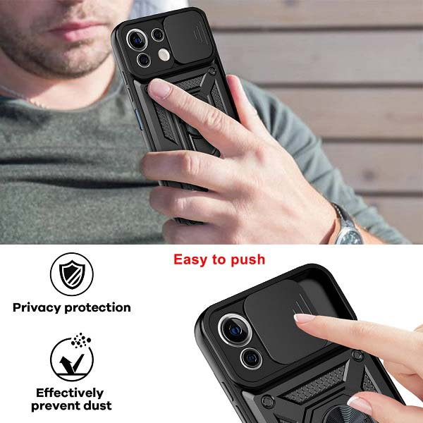 کاور ضد ضربه گوشی شیائومی Mi 11 Lite مدل محافظ لنز
