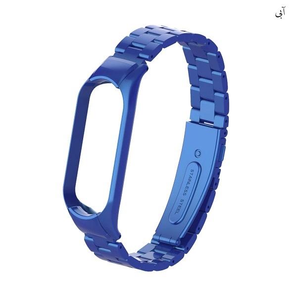 خرید بند مچ بند شیائومی Mi Smart Band 6 مدل فلزی 3Bead