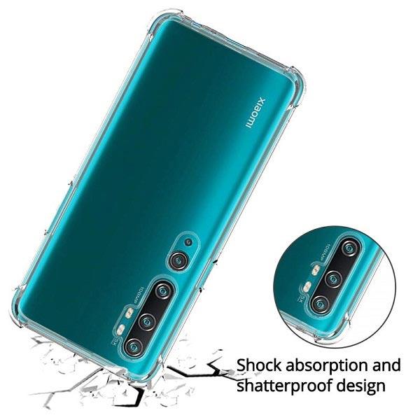 خرید قاب گوشی شیائومی Mi Note 10/Mi Note 10 Pro ژله ای کپسولی