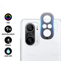خرید محافظ لنز دوربین گوشی شیائومی Poco F3 مدل شیشه ای
