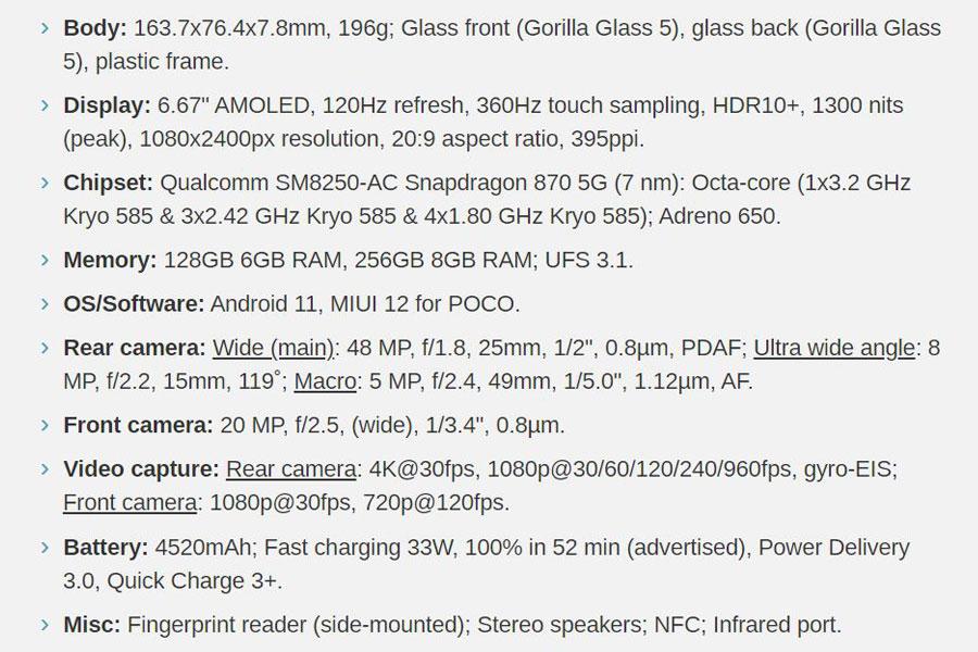Xiaomi Poco F3 Review 2
