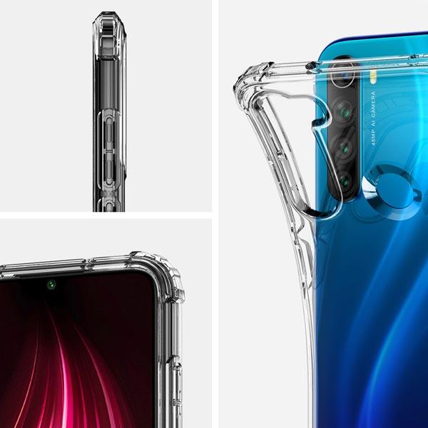 خرید قاب گوشی شیائومی Redmi Note 8 ژله ای کپسولی