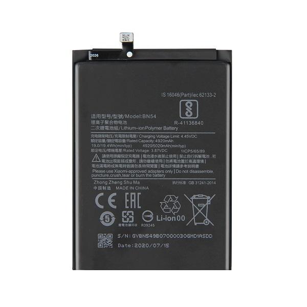 خرید باتری گوشی شیائومی ردمی نوت 9 مدل BN54