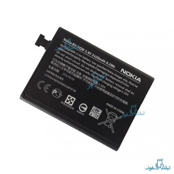 قیمت خرید باتری گوشی نوکیا لومیا 930 مدل BV-5QW